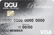 DCU Visa® Platinum Secured Credit Card