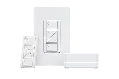 Lutron Caséta Wireless Smart Lighting Dimmer Switch Starter Kit